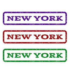 New york watermark stamp vector