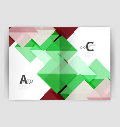 Print template modern elegant background triangle vector