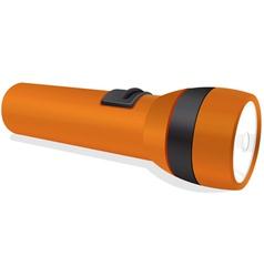 An orange torch vector