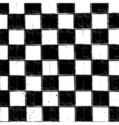 Checkered Grunge Texture vector image vector image