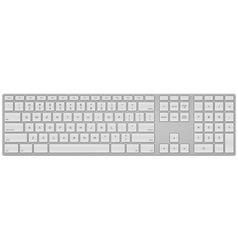 Standard US Keyboard vector image vector image