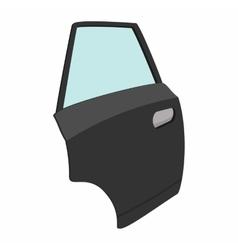 Car door single cartoon icon vector image vector image