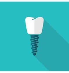 A dental implant vector