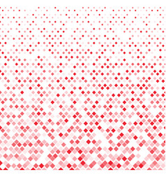 abstract geometric red squares pattern on white vector image