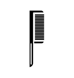 comb one icon black sign on vector image