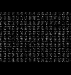 Dark binary code vector