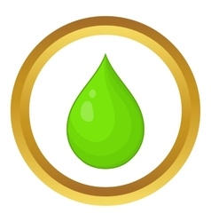 Drop of water icon vector