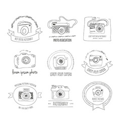 Photography Logos vector image
