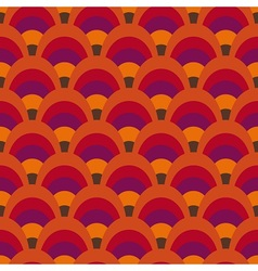 Retro inspired pattern vector image