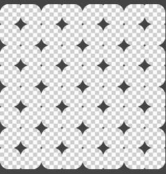 seamless stars pattern seamless on isolated vector image