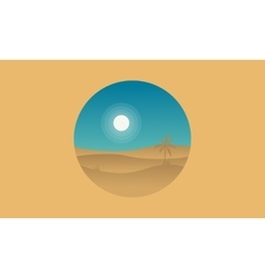 Silhouette of dessert icon landscape vector
