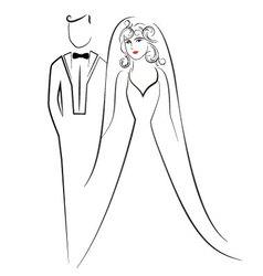 wedding 5 vector image vector image