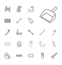 22 hygiene icons vector