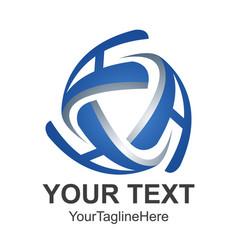 3d letter a logo royal hotel premium boutique vector image