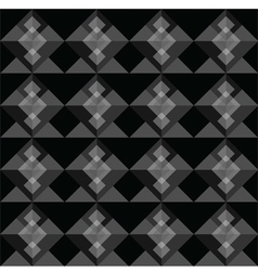 Black square seamless pattern blackground vector