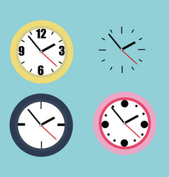 collection of watches vector image