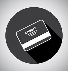 credit design vector image