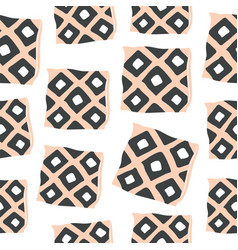 cute seamless pattern with hygge pillows vector image