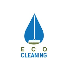 eco cleaning design template vector image