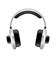 Headphones 2 vector image
