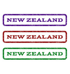 New zealand watermark stamp vector