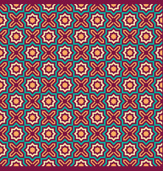 Seamless octagon pattern islamic style vector