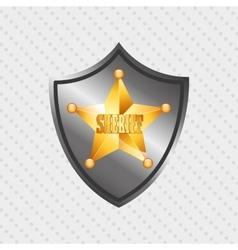 Wild west icon design vector