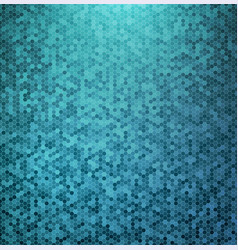 abstract blue mosaic background vector image