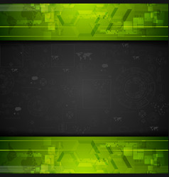 Dark tech graphic drawing vector