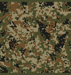 Autumn flectarn camouflage seamless patterns vector