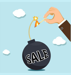 discount and sale vector image
