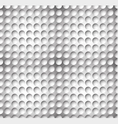 Grayscale circle pattern with seamlessly vector