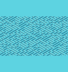 Maze pattern abstract background with labyrinth vector