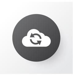 Synchronize icon symbol premium quality isolated vector