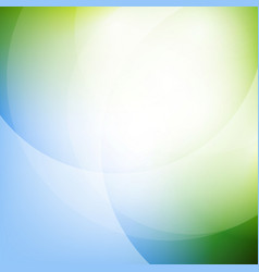 eco green background with line vector image vector image