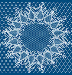 wedding lace pattern2 vector image vector image