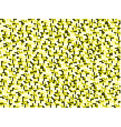 background in style pixel yellow vector image