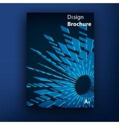 Brochure booklet cover design templates vector
