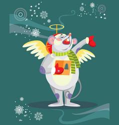 Christmas image 7 vector