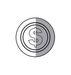 Coin icon stock image vector