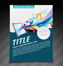 Creative brochure design vector