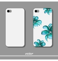 FlowerPhone vector image