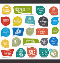modern sale sticker collection vector image