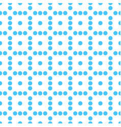 Seamlessly repeatable dotted polka dot pattern vector