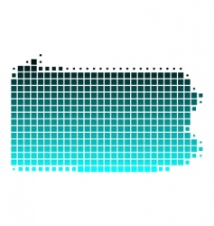 map of Pennsylvania vector image vector image