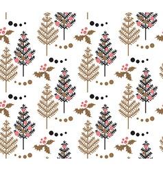 Christmas Tree pattern vector image
