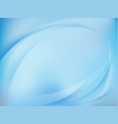 abstract blue blurred background eps 10 vector image vector image