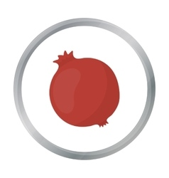 Garnet icon cartoon Singe fruit icon from the vector image vector image