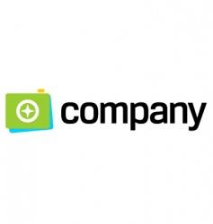 photo camera shot logo vector image