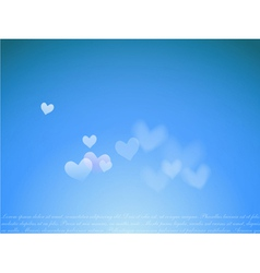 dream with hearts vector image
